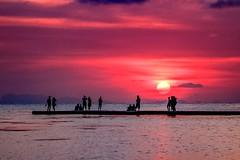 Invitation to dream about Love (yarin.asanth) Tags: fly yarinasanth gerdkozik love red holiday vacation sea evening sundown sunset thailand kohphangan