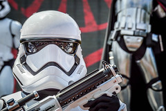 The First Order (giorgymolano) Tags: stormtrooper star wars saga phasma first order imperial army dark side darksite storm trooper george lucas walt disney world resort orlando florida lake buena vista hollywood studios mgm march