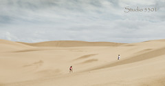 couple hiking sand dunes 4047PatriciaLam (Studio5301) Tags: sanddunes sand rabbit patricialam studio5301 sandandsky