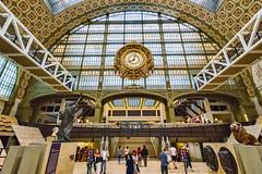 Muse dOrsay - Paris (Txantxiku) Tags: paris museo orsay francia arquitectura lugares ciudades
