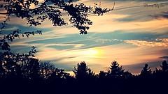 Vermont Sundog (Eyes Open To Life) Tags: vermont clouds sundog nature