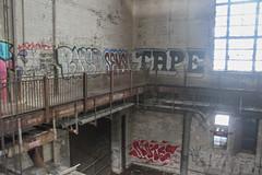 Radeo, Sensi, Tape, Note (NJphotograffer) Tags: graffiti graff pennsylvania pa philadelphia philly abandoned building urban explore radeo sensi tape note2 note 2 clout club