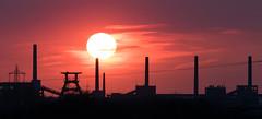 Zollverein Coking Plant (MartinFechtner-Photography) Tags: sunset sun germany industrial industrie sonne sonnenuntergang ruhrgebiet ruhr zollverein zeche coking plant 400mm kokerei cokery essen mechtenberg panasonic fz1000