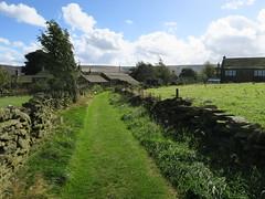 Looking towards Holme village (Jackie & Dennis) Tags: shdrc holmfirth b1 holme village mown path