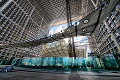 L'Arche (johann walter bantz) Tags: modern la dfense paris art avantgarde nikon d4 1424mm color extrem perspective