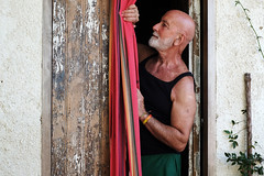 . (Mario M.) Tags: portrait man fiumeazzurro people flickr