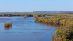 Mississippi Palisades (Mark Herrera) Tags: fall fallcolors mississippiriver mississippipalisadesstatepark savanna illinois bigrivers landscape