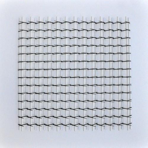 herman coppus papierreliëf 70 x 70 cm