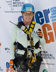 150328_Sharon Bronson Rappel for Girl Scouts30 (PimaCounty) Tags: climbing girlscouts fundraising rappel overtheedge district3 communityevents sharonbronson