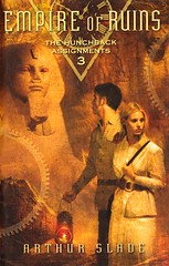 Empire of Ruins (Vernon Barford School Library) Tags: new greatbritain school fiction england 3 london reading book three high ruins library libraries 19thcentury 1800s hard reads australia books read cover empire junior novel spies covers sciencefiction bookcover middle youngadult vernon ya recent bookcovers shapeshifter novels fictional hardcover youngadultfiction disfigured secretagents shapeshifters barford hardcovers nineteethcentury spystories vernonbarford arthurslade spyfiction disfiguredpersons disfiguredpeople 9780385906968 hunchbackassignments