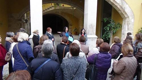 Visita de mujeres de la Coop. de Viver a Cooperatives Agro-alimentàries