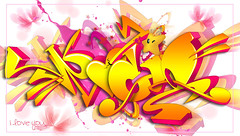 Rocio (Hoper 1) Tags: wallpaper graffiti design 3d artist drawing digitalart adobe illustrate hoper digitalsketch digitalgraffiti graffiti3d vectorgraffiti photoshopcs6 vectorpiece