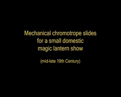 Chromotrope Magic Lantern slides (Rescued by Rover) Tags: colours hand mechanical patterns magic victorian slide lantern slides crank chromotrope