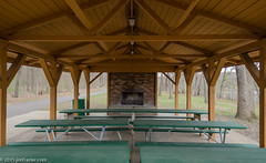 The Shelter is Available (Jim Frazier) Tags: park copyright usa art architecture river illinois spring fireplace picnic pov structures symmetry architectural il fox tables april symmetrical southelgin kanecounty foxriver kane forestpreserve shelter perpendicular centered q3 linedup 2015 headon duerr centralperspective towm jonduerrforestpreserve kanecountyforestpreserve jimfraziercom 20150417jonduerrforestpreserve
