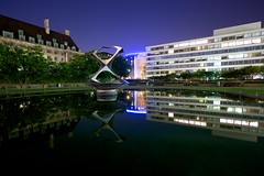 Midnight Reflections (Christophe Pfeilstcker) Tags: uk reflection london water night xris74 pixpassion