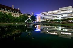 Midnight Reflections (Christoph Pfeilstücker) Tags: uk reflection london water night xris74 pixpassion