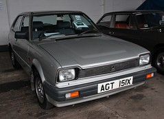 AGT 151X (1) (Nivek.Old.Gold) Tags: honda 1982 civic aca tooting hondamatic 3door 1335cc garrattlanecars