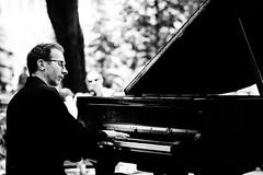 piano man nyc (dansingsbuzz) Tags: street portrait blackandwhite musician piano musical
