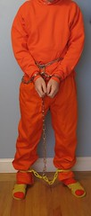 IMG_6901c (bob.laly) Tags: uniform chain jail shackles handcuffs prisoner jumpsuit inmate