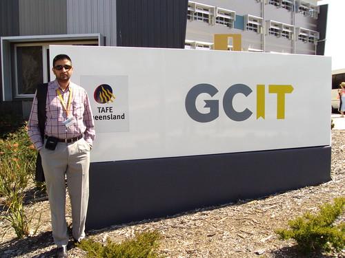 Director Mr.Kang at GCIT Campus, Gold Coast Australia