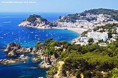 Tossa de Mar (tonomf) Tags: espaa beach landscape mar spain agua nikon postcard playa paisaje girona turismo catalua mediterrneo gerona tossa nikond5100