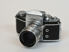 Exakta Varex IIa (torremundo) Tags: film analog kb exakta varex spiegelreflex analogekamera kamerageschichte