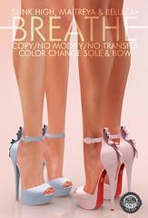[BREATHE]-Jaden Heels@Cosmopolitan (Daisa Admiral) Tags: breathe secondlife cosmopolitan mesh heels