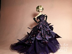 Purple Reign (Fu Zin) Tags: mirage ayumi fashionroyalty itbe fuzin diorhautecouture