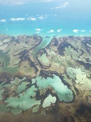 Andros, The Bahamas (sssdc1) Tags: ocean window plane landscape air flight atlantic bahamas andros westsidenationalpark wideopening