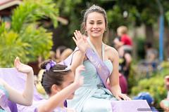 Junior Jacaranda Queen - Jacaranda Parade 2015 (sbyrnedotcom) Tags: 2015 people events grafton jacaranda parade rural town junior queen girl nsw australia