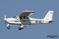 9H-MLT LMML 24-07-2016 (Burmarrad) Tags: airline malta school flying aircraft tecnam p92 echo js registration 9hmlt cn 136 lmml 24072016