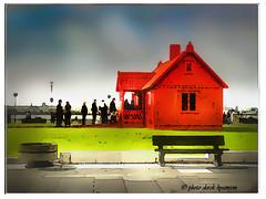 BIENNIAL ARTWORK (Derek Hyamson) Tags: liverpool artwork impression hdr pierhead pierheadliverpool2004abba housebiennial