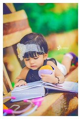 """The best gift you can give to a child is knowledge."" <3 (Vipul Sharma 007) Tags: baby portfolio happiness smiles love smile happy knowledge goals best child photo amazing work follow photographer vipul sharma bliss light leaks vibrance creative books poses diy pinterest"