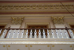 Palace Balcony (VinayakH) Tags: india gardens royal palace hyderabad royalpalace nizam telangana chowmahallapalace