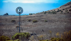 (Dale Michelsohn) Tags: california usa windmill america photoshop coast nikon paint desert wheat pasture fields dalemichelsohn grgass