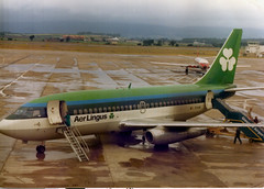 Aer Lingus 737 October 1971 Glasgow (JimGer947) Tags: city light river clyde canal airport glasgow gull forth oil adelaide british boeing aer tanker clipper 737 lingus erskine scows rashilee airportcarrick