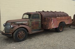 Chevrolet Tanker (Hugo90-) Tags: truck tank tanker antique classic rusty unrestored chevrolet