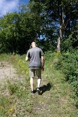 Summer wanderer (dididumm) Tags: wanderer summer sunshine heat path wellknown familiar walk spaziergang vertraut pfad weg hitze sonnenschein sommer