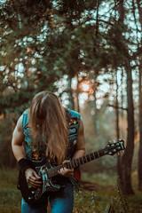 IMG_4956 (rodinaat) Tags: longhair longhairman longhairedman longhaired beard bearded metal metalhead powermetal trashmetal guitar musican guitarplayer brutal forest summer sun