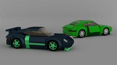 Porsche 911 GT3 (Garry_rocks) Tags: car lego 911 porsche sportscar gt3