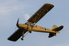 At Home with Shuttleworth - July 2016-14 (James Hancock Photography) Tags: old history canon photography photo aircraft aviation flight bedfordshire photojournalism historic collection planes warden shuttleworth storch fieseler fi156 gstch