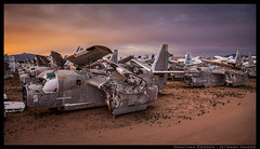 Morning Glory (jderden77) Tags: derden aviation airplane aircraft boneyard grumman tracker s2 tucson arizona airplaneboneyard scrapyard