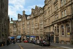 lovely street in Edinburgh (Suzanne's stream) Tags: street houses edinburgh scotland