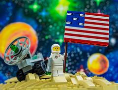 Apollo 11 (Baron Julius von Brunk) Tags: lego space nasa apollo11 legospace classicspace