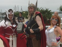Sif, Thor & Dazzler (Honky275) Tags: comiccon sandiego dazzler sif thor sdcc2016