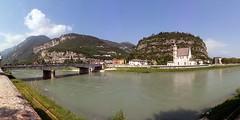 Fiume Adige (Trento) (Carlo Arrigoni) Tags: carloarrigoni ekgc100 panorama fiume adige italy italia trento vacanza holiday river karlosimo karlo57