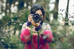 Moisan. (oscar pinto fotografa) Tags: fotografia fotografo bosque verde invierno cmara emocion light bokeh people gente girl