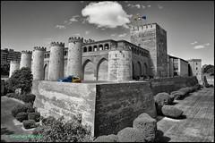 Aljafería Palace (geospace) Tags: zaragoza spain aljafería moors aragon