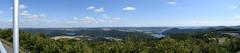 Panorama Edersee en Affoldernersee, Hochsauerland (wimjee) Tags: edersee panorama hochsauerland hugin nationalpark kellerwald
