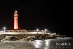 Faro de Torrox (Rubn Gil) Tags: torrox mlaga andalucia mar mediterraneo sea noche nocturnas nocturna night nit faro canon canon6d canon24105mm rubengilphotography